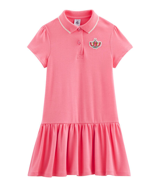 Girls' Dress Cupcake pink