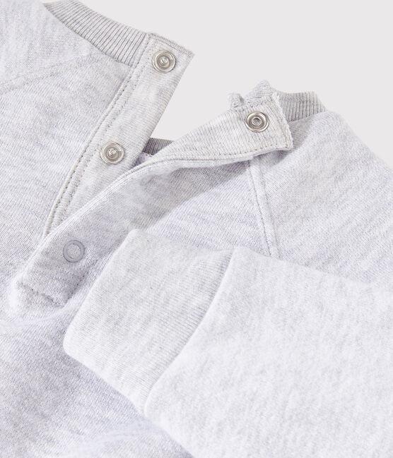 Baby Boys' Long-Sleeved Sweatshirt Beluga grey
