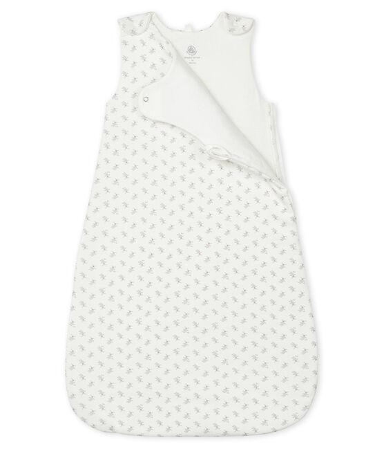 Babies' Rib Knit Sleeping Bag Marshmallow white / Multico white