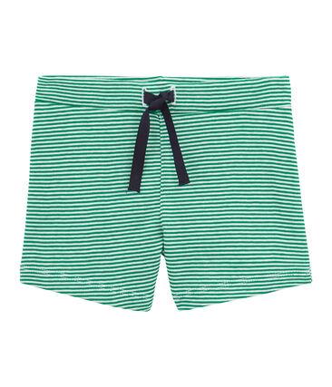 Baby boys' striped shorts
