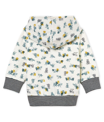 Baby boys' print hooded zip up Sweatshirt