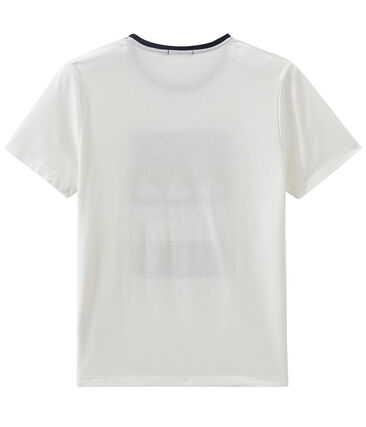 Unisex short sleeve tee-shirt Marshmallow white