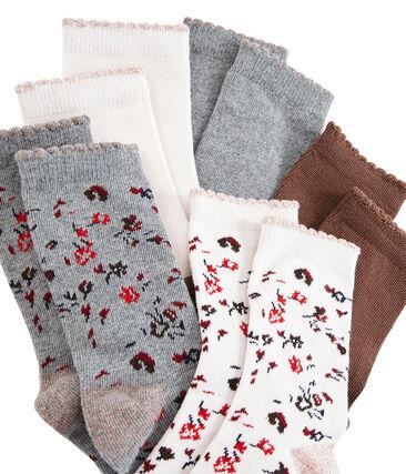 Girls' Socks - 5-Piece Set . set