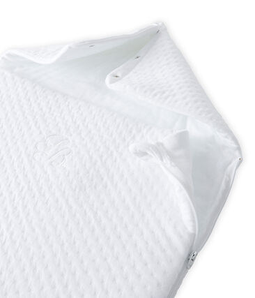 Baby sleeping bag in a padded tube cotton