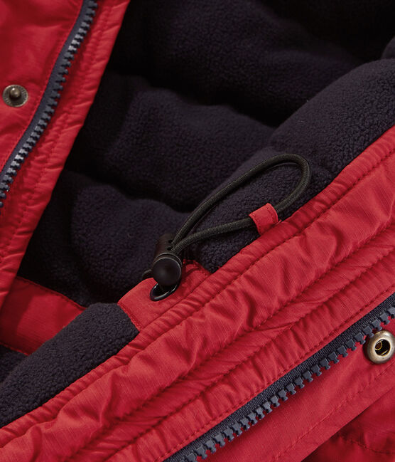 Boys' Feather and Down Coat Terkuit red
