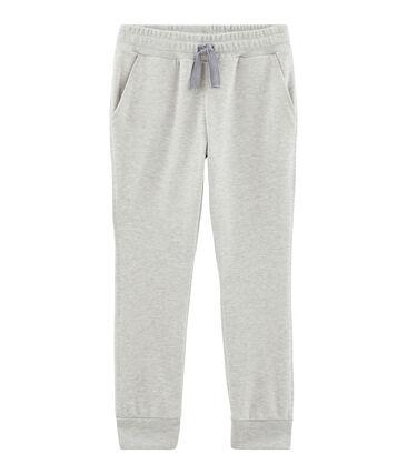 Boys' Knit Trousers Beluga grey