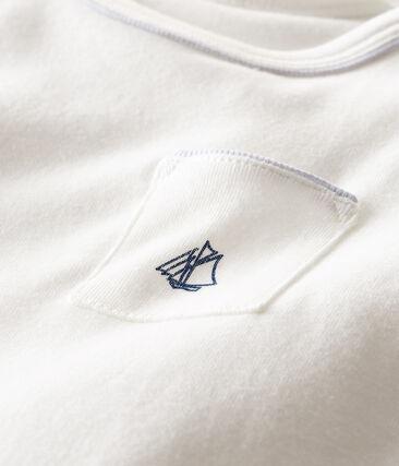 Tee shirt manches courtes bébé garçon Marshmallow Cn white