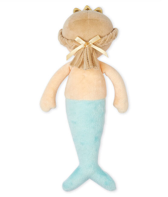 Velour Mermaid Comforter Fleur pink / Multico white