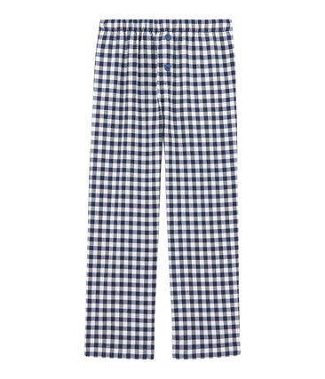 Boys' Pyjama Bottoms Lait white / Medieval blue