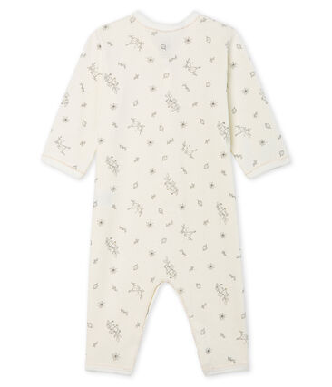 Baby Girls' Footless Ribbed Sleepsuit