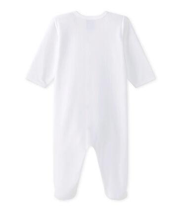 Baby's sleepsuit Ecume white