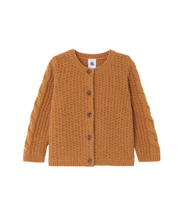 Baby girl's wool blend cardigan