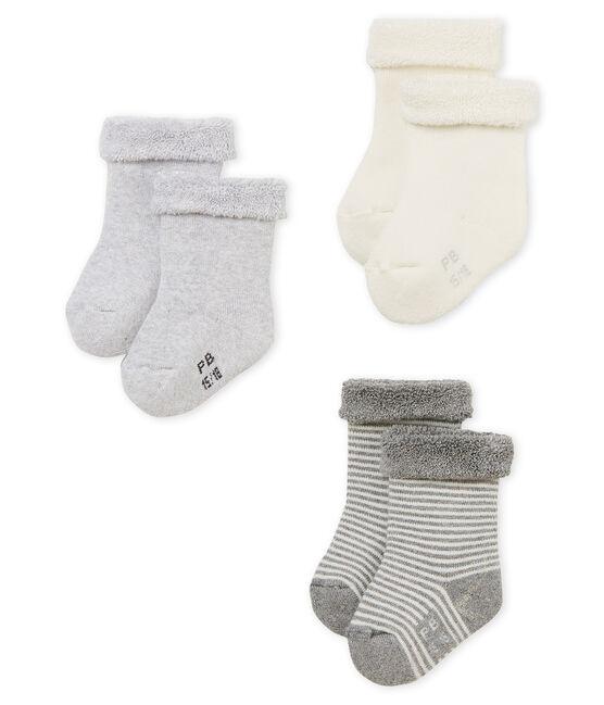 Unisex baby socks - 3-pack . set