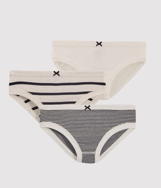 Girls' Striped Knickers - 3-Pack . set