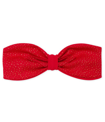 Baby Girls' Headband Terkuit red / Or yellow