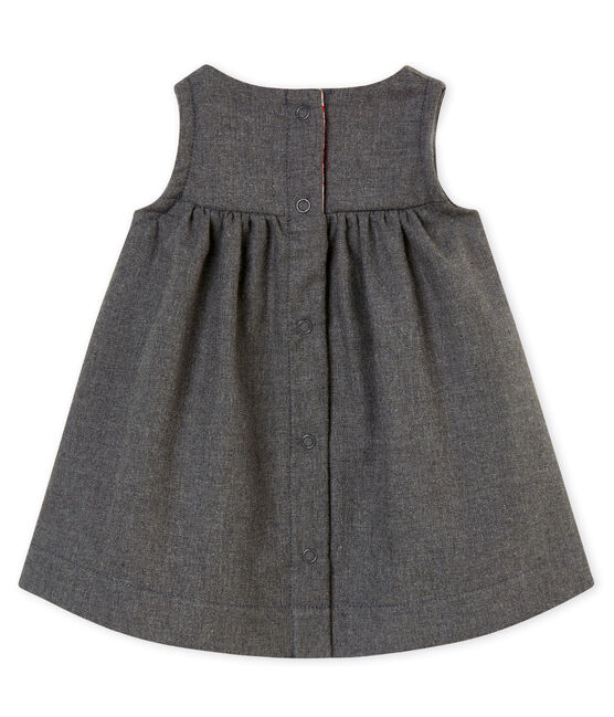 Baby girl's dress Subway grey