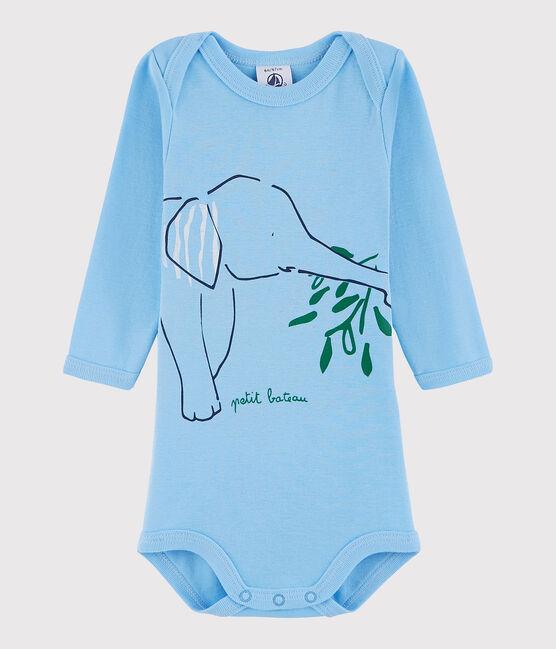 Unisex Babies' Long-Sleeved Bodysuit CIELO