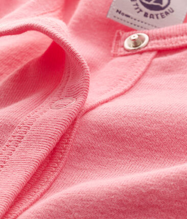 Baby girls' cardigan Petal pink