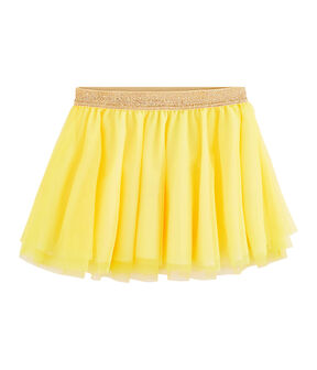 Girls' Skirt Eblouis yellow