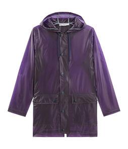 Women's Waxed Coat Real purple