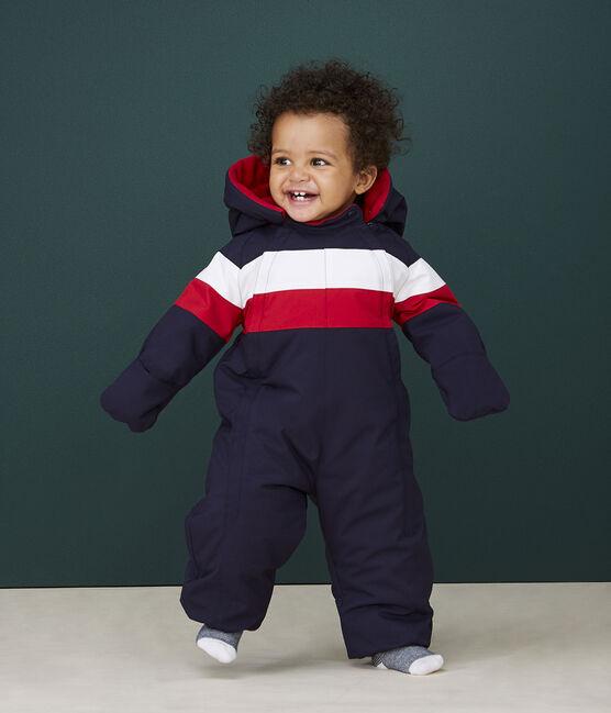 Baby's unisex 3-in-1 snowsuit Smoking blue / Multico white