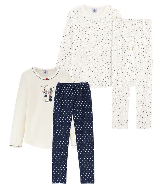 Girls' Pyjamas - Set of 2 . set