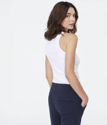 Women's Iconic Vest Ecume white