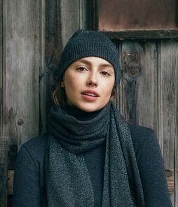 Women's Shiny Wool Hat