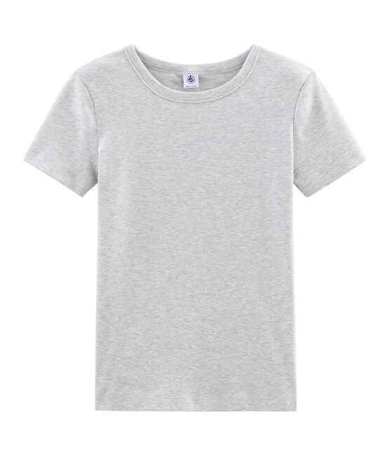 Women's Short-Sleeved Iconic T-Shirt Beluga grey