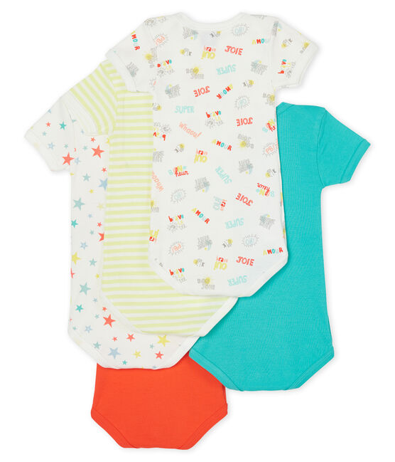 Baby Boys' Short-Sleeved Bodysuit - 5-Piece Set . set