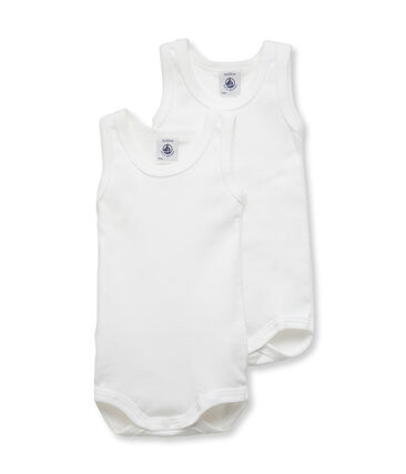 Baby Boys' Sleeveless Bodysuit - Set of 2