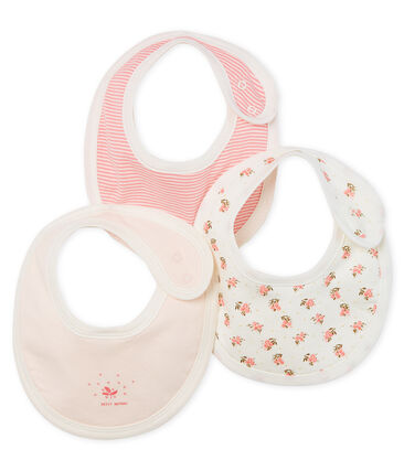 Ribbed Babies' Bib - 3-Piece Set