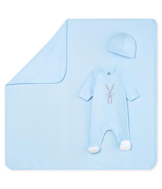 Newborn rib knit gift set . set