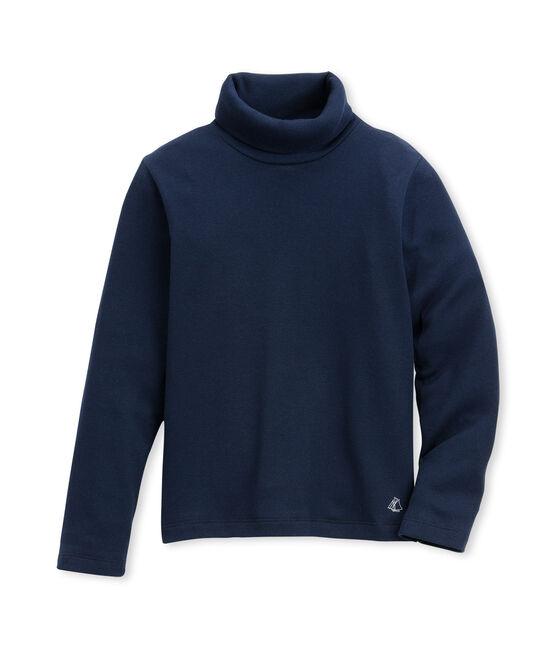 Unisex Children's Plain Undershirt Abysse blue