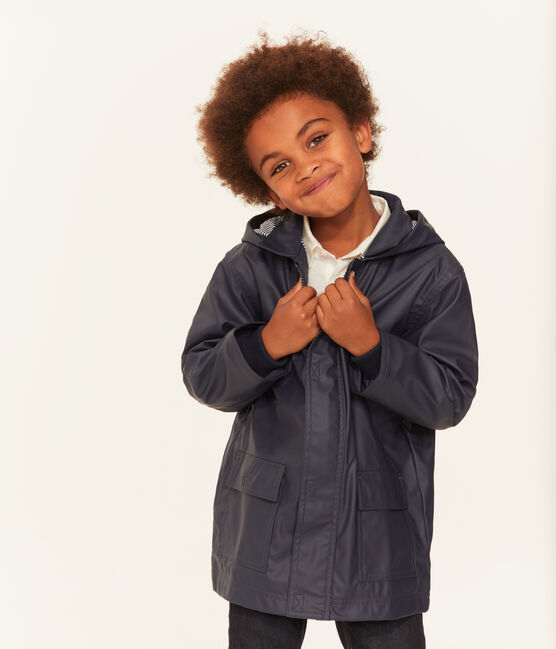 Unisex Children's Raincoat Smoking blue