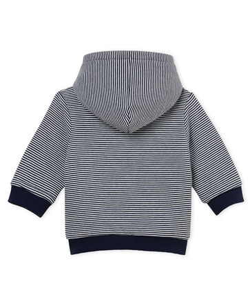 Baby boys' striped padded hooded Sweatshirt