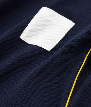 Girls' 3/4 Sleeves T-shirt Smoking blue
