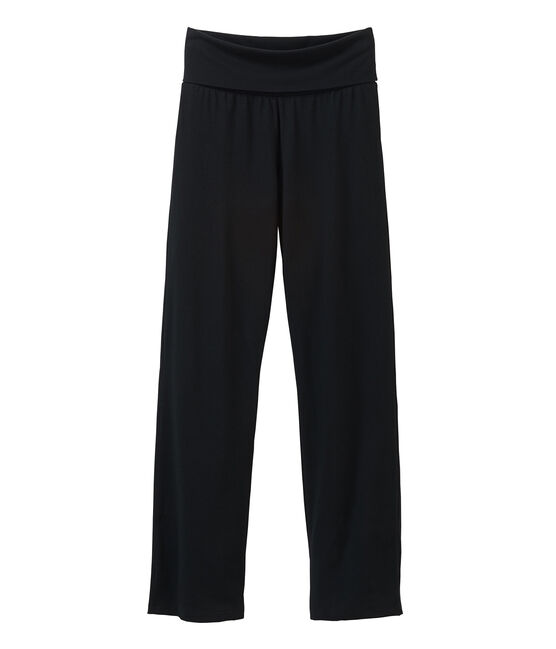 Women's knit trousers Noir black