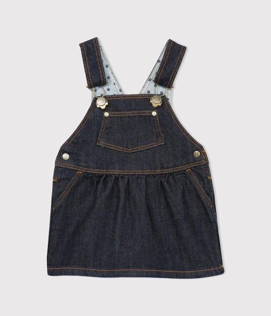Baby girl's denim dungaree-dress JEAN