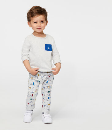 Baby Boys' Printed Fleece Trousers