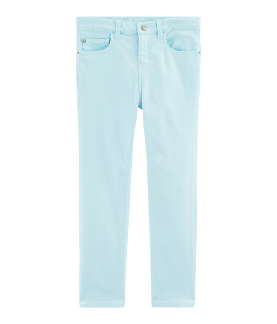 Girls' Trousers Glacis blue