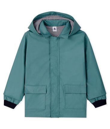 Unisex Children's Waxed Coat Brut blue