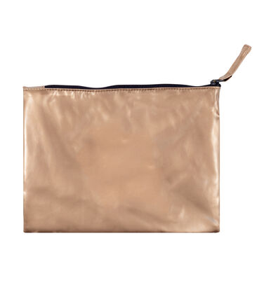 Copper clutch bag