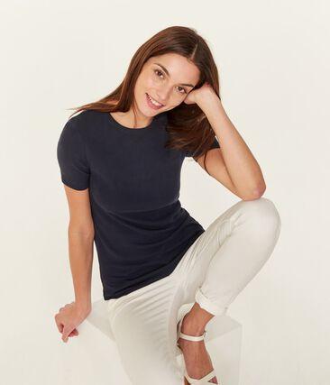 Women's Iconic T-Shirt Smoking blue