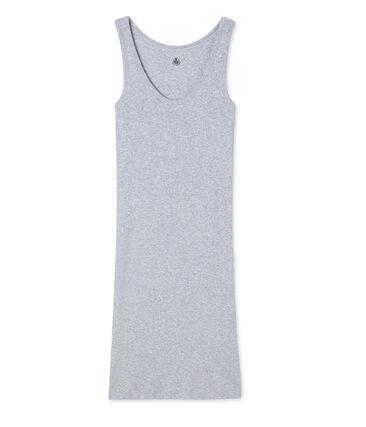 Women's nightie in ultra light cotton -