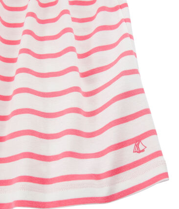 Girls' Dress Marshmallow white / Cupcake pink