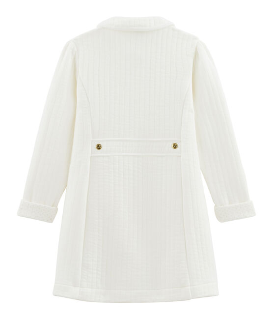 Girls' coat Marshmallow white
