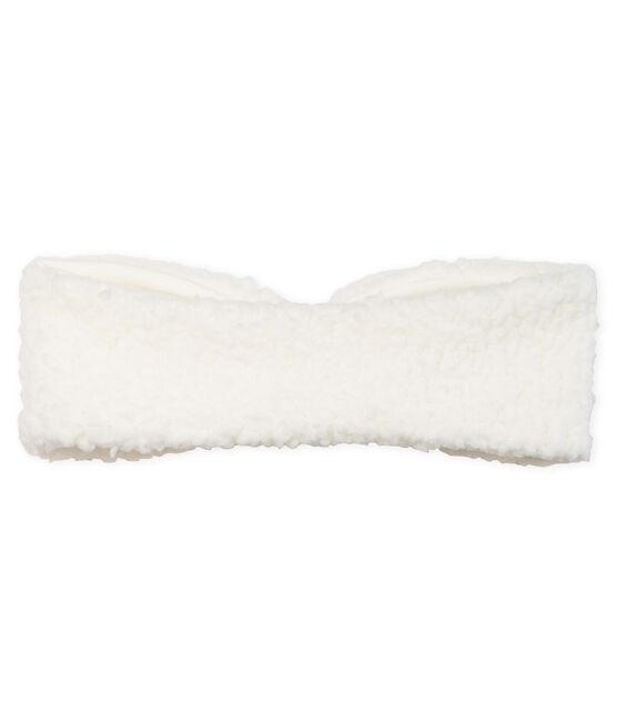 Baby Girls' Headband Marshmallow white