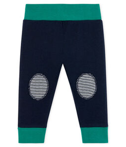Baby Tube Knit Trousers Smoking blue