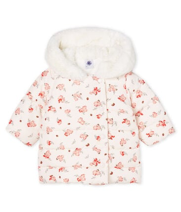 cf323e912 Baby Girls' Print Microfibre Down Jacket